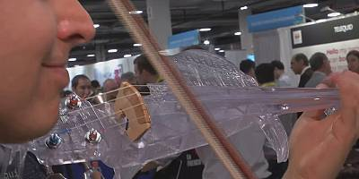 L'era del violino 3D in plastica