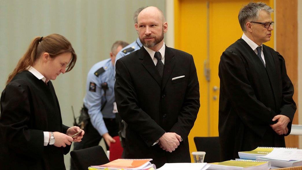 Noruega justifica ante la justicia el aislamiento de Anders Breivik
