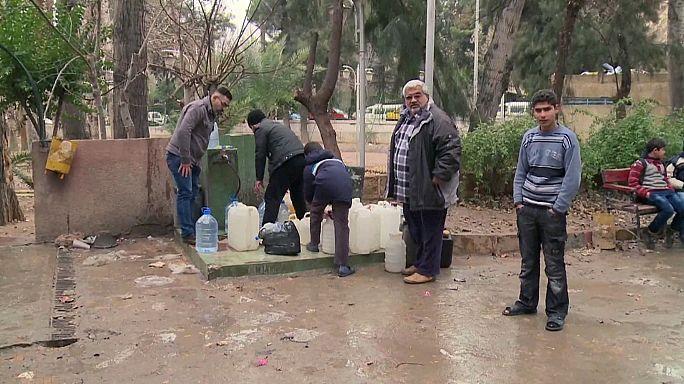 Συρία: Συμφωνία καθεστώτος και ανταρτών για την υδροδότηση της Δαμασκού