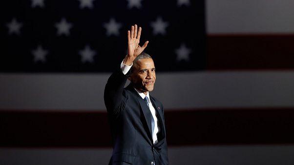 O discurso emocionante de Barack Obama na hora do adeus