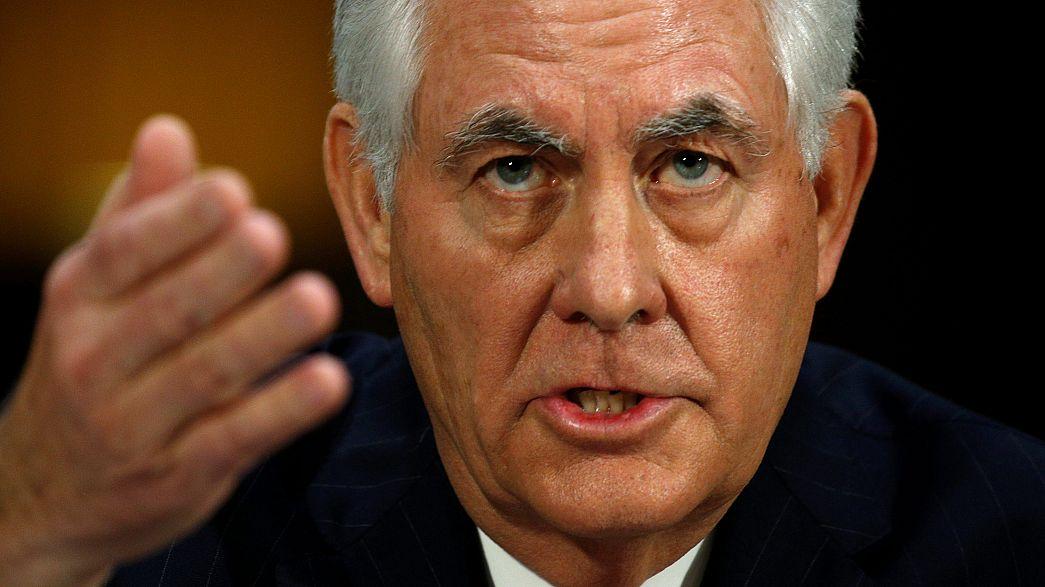Etats-Unis : audition de Rex Tillerson devant le Sénat