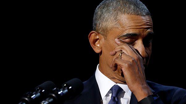 Fényképes búcsú Obamától
