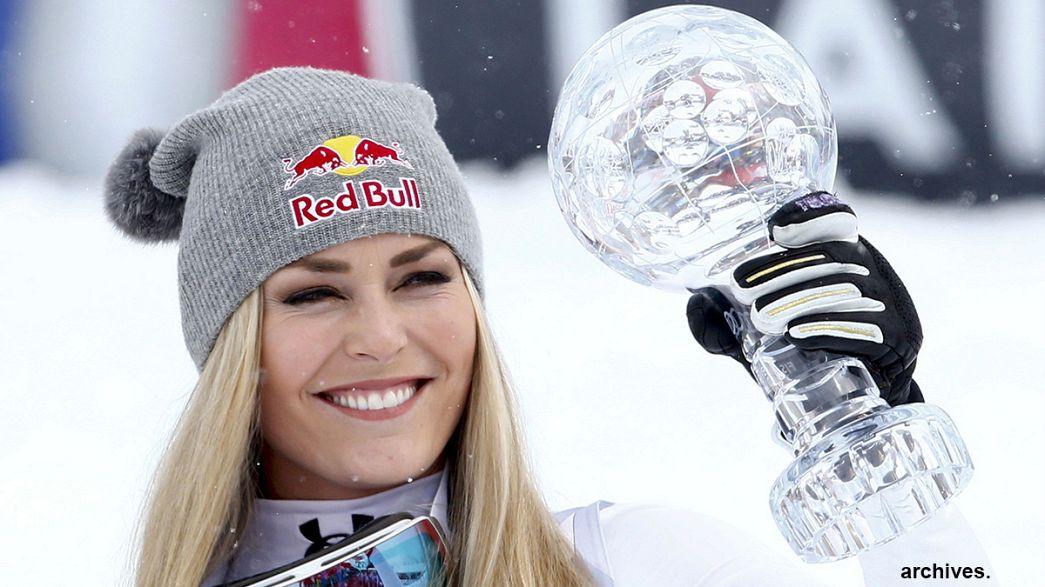 Lindsey Vonn returns to skiing in Austria
