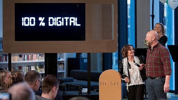 پخش رادیویی در نروژ از آنالوگ به دیجیتال تغییر کرد