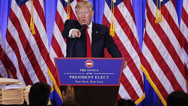 """Trump: """"hazugságokat kiszivárogtatni a náci Németországban volt szokás"""""""
