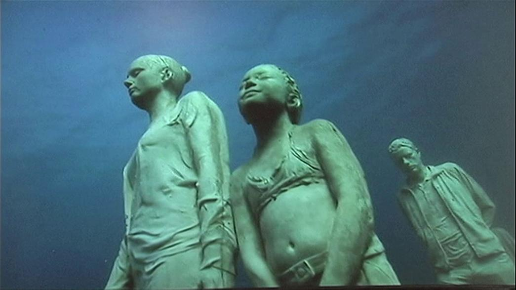 Avrupa'nın ilk su altı müzesi İspanya'da