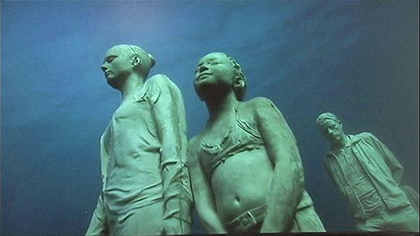 Museo Atlantico: művészet a víz alatt
