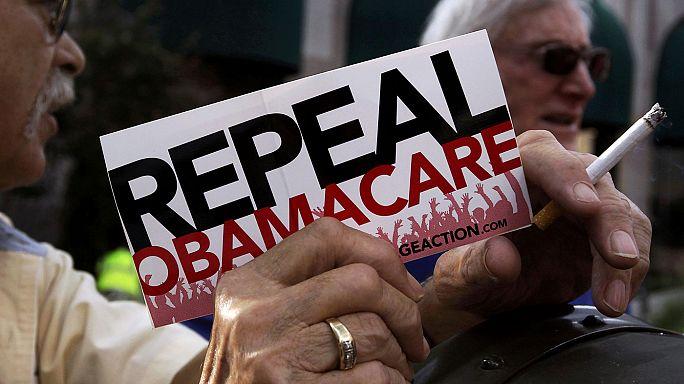 ABD Senatosu'ndan Obamacare'in iptali için ilk adım