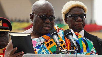 Des temps difficiles pour le nouveau président du Ghana, Nana Akufo-Addo