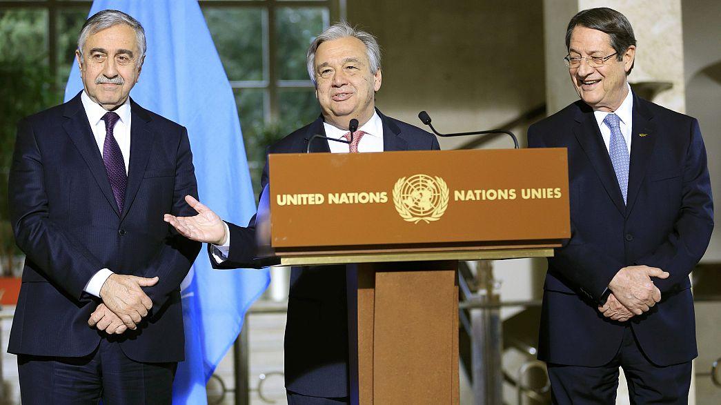 Genebra acolhe conferência multilateral sobre Chipre