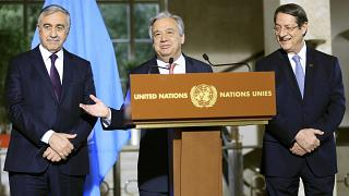 Genève : ouverture de la conférence sur Chypre