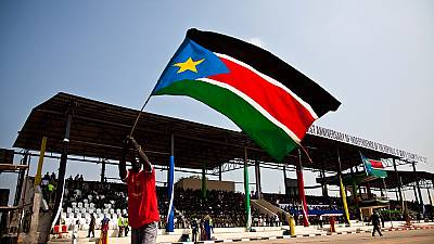 South Sudan flags hoisted upside down in Egypt sparks angry reaction