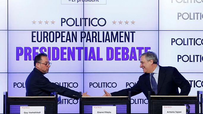 Tajani tipped to edge EP presidency