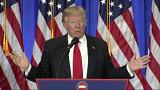 Trump news conference aggressive,confrontational, extraordinary