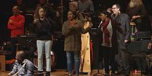 """Spanish composer Jordi Savall presents a musical show """"The Routes of Slavery"""""""