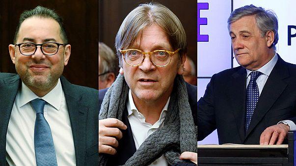 Tres favoritos se disputan la presidencia del Parlamento Europeo