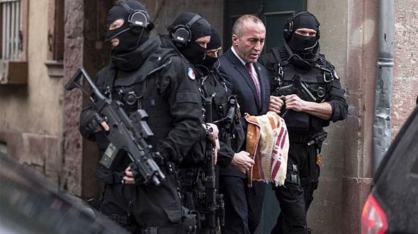 La justicia francesa deja en libertad a Haradinaj