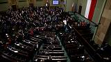 Polish opposition ends parliamentary occupation