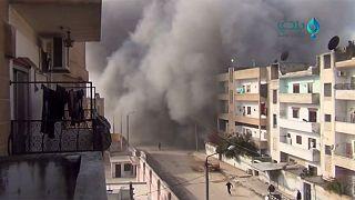 مقتل وإصابة عدد من المدنيين في حلب وإدلب والجيش التركي يستهدف 40 موقعا لداعش في الباب