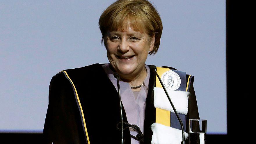 Belgien: Ehrendoktor für Angela Merkel