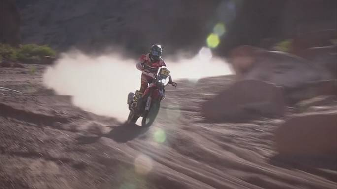 Dakar Rally: French pair Metge and Peterhansel win stage ten