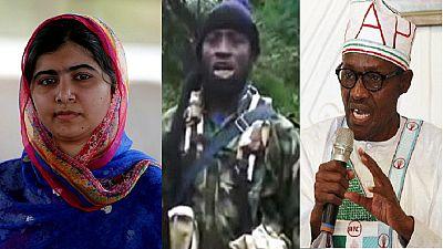 Boko Haram defeat tied to rescue of remaining Chibok girls – Buhari to Malala
