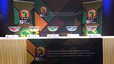 AFCON 2019: CAF announces official draw for qualifiers