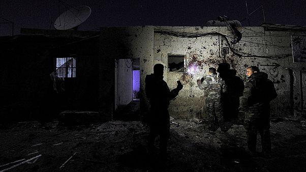 Explosions et attentat suicide à Damas