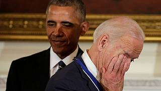 Obama surprises Biden with presidential medal of freedom