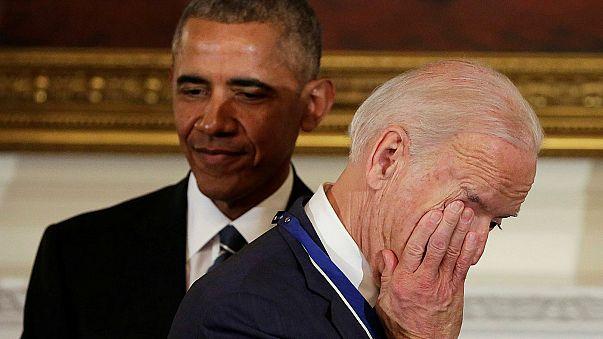 Egyesült Államok: a legmagasabb polgári kitüntetést kapta Joe Biden alelnök