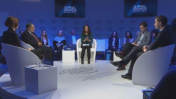 Die Welt nach Multikulti: Live-Debatte in Davos