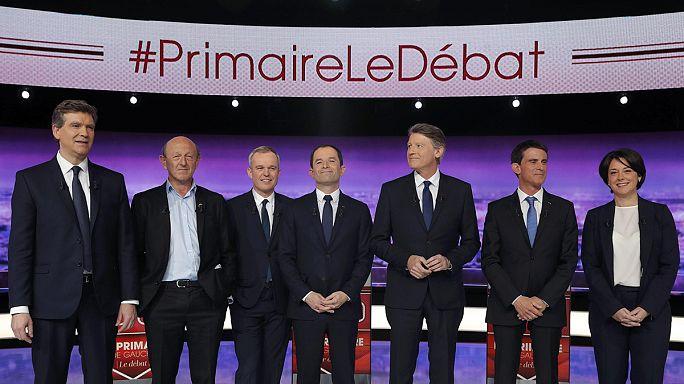 A volt gazdasági miniszter nyerte a francia baloldal első elnökjelölti tv-vitáját