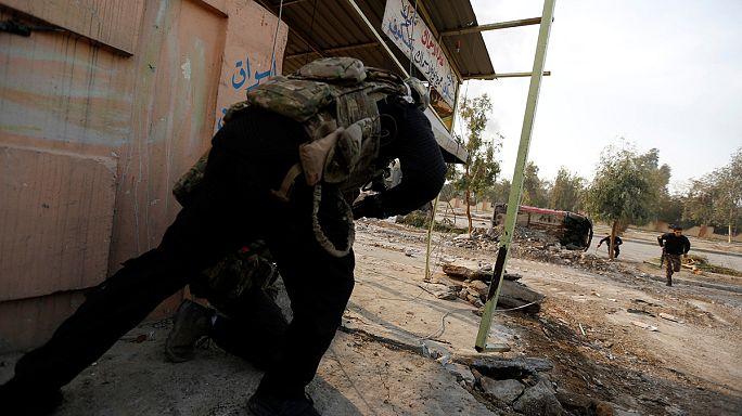 Irak Ordusu'nun Musul cephesinde ilerleyişi sürüyor