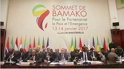 Security, democracy top France-Africa summit