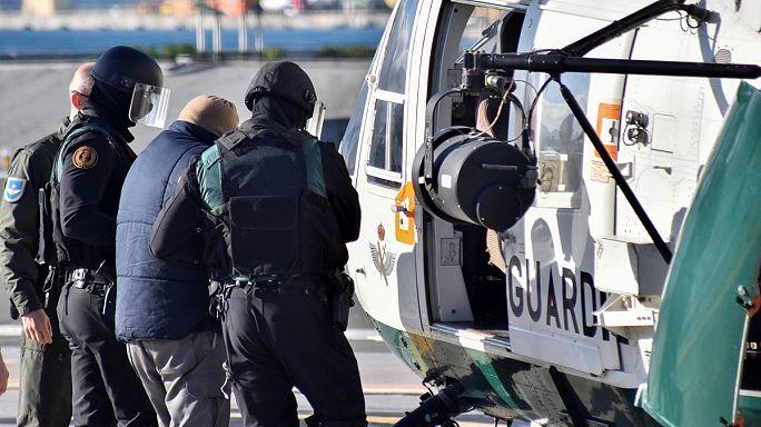 Terrorgyanús személyeket tartóztattak le Ceután