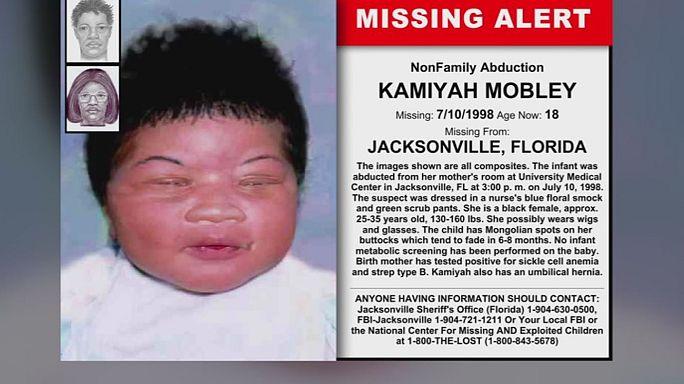 EUA: Polícia resolve caso de rapto de bebé 18 anos após o crime