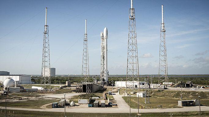 SpaceX will Raketenstart nachholen