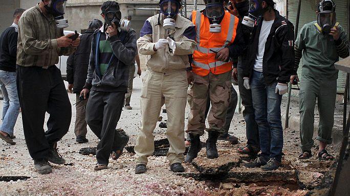 Listán a szíriai vegyi támadások felelősei