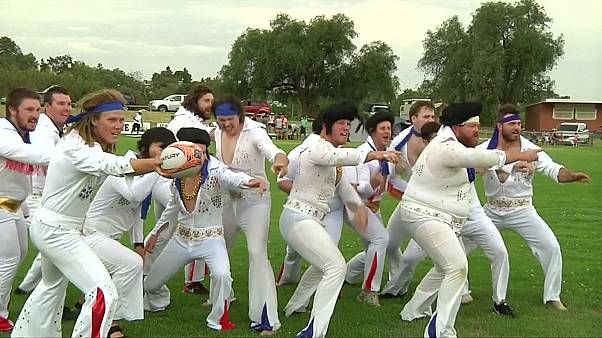 Rockin' rugby with Elvis Down Under