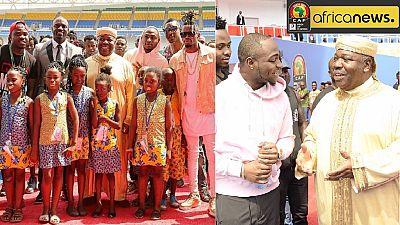 Akon, Davido among top musicians set to open AFCON 2017 in Gabon
