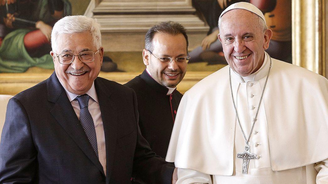 Inauguration au Vatican de l'ambassade palestinienne