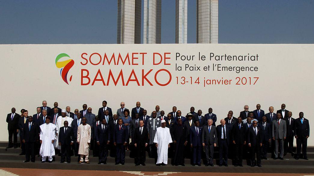 Олланд принял участие в саммите Африка-Франция в Мали