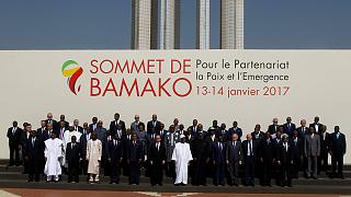 27. Fransa Afrika Zirvesi Mali'de başladı