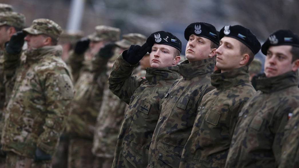 Poland welcomes 4,000 US troops as part of NATO deployment