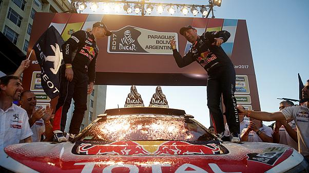 Stéphane Peterhansel no tiene rival en el Rally Dakar