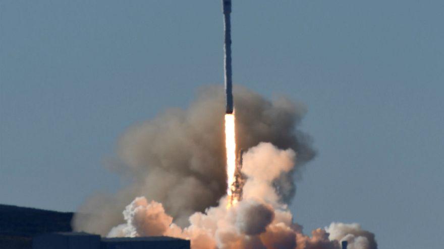 پرتاب موفق موشک اسپیس ایکس به فضا