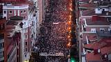 ETA: a bebörtönzött terroristák jogaiért tüntettek sok ezren Baszkföldön