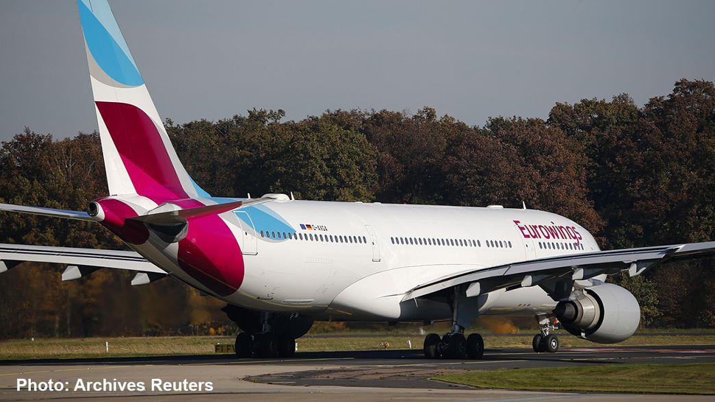 Самолёт компании Eurowings совершил экстренную посадку в Кувейте