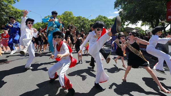 Australia: l'omaggio di Parkes a Elvis Presley