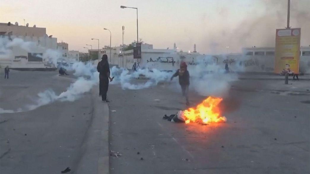 احتجاجات في البحرين عقب إعدام ثلاثة شبان